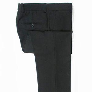 Alberto Black Stanley Techno Satin Modern Fit Pant